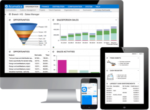 Acumatica Cloud ERP Products