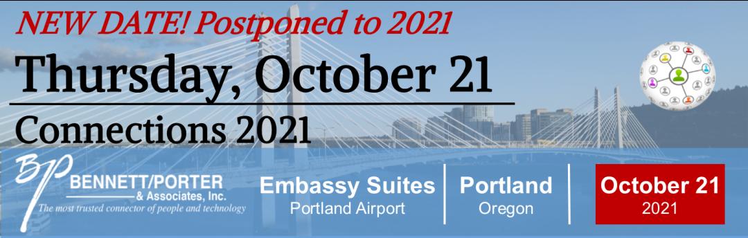 Bennett/Porter Connections - Postponed to October 21, 2021